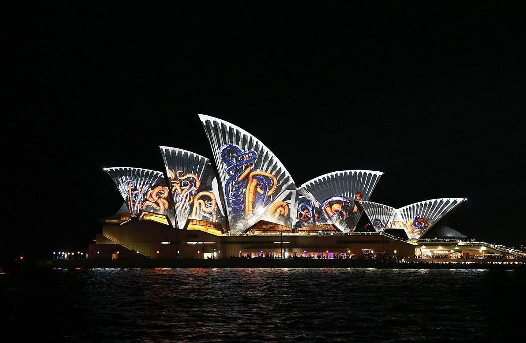 svetovoe shou 15 Фестиваль света в Сиднее