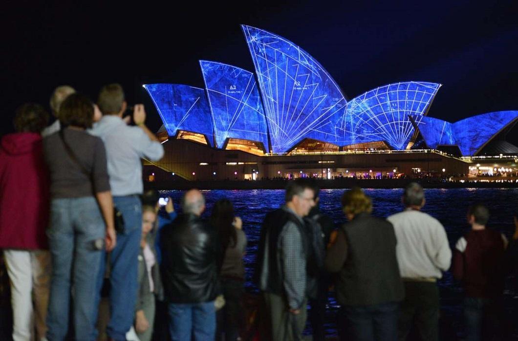 svetovoe shou 2 Фестиваль света в Сиднее