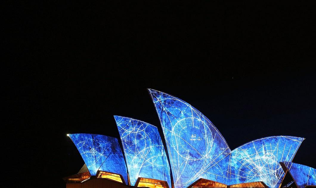svetovoe shou 3 Фестиваль света в Сиднее