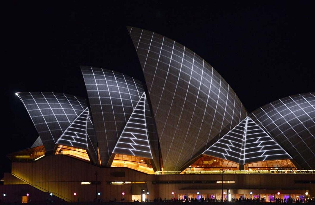 svetovoe shou 5 Фестиваль света в Сиднее