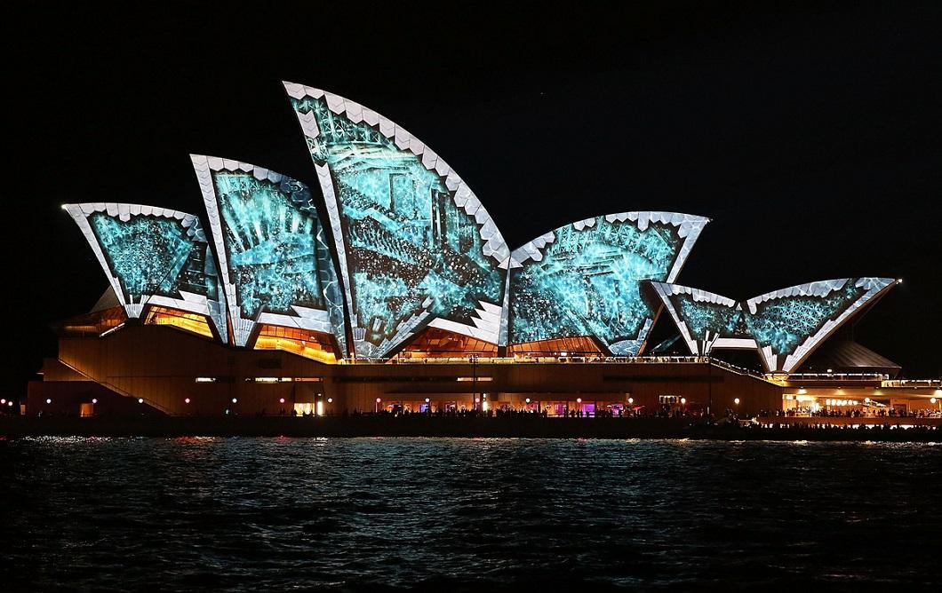 svetovoe shou 8 Фестиваль света в Сиднее
