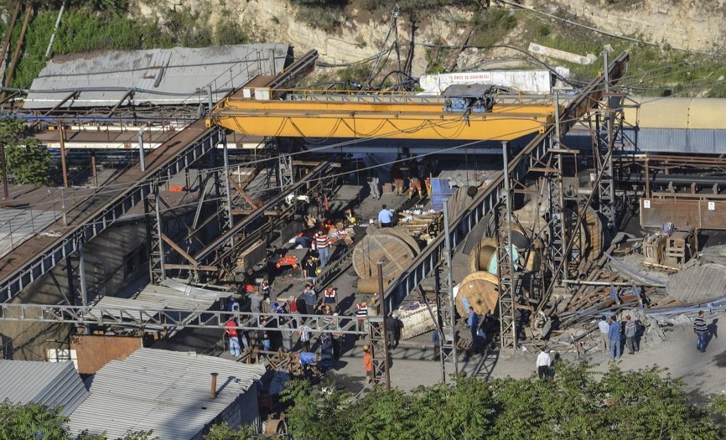 vzryv na shaxte 1 explosion at a mine in Turkey