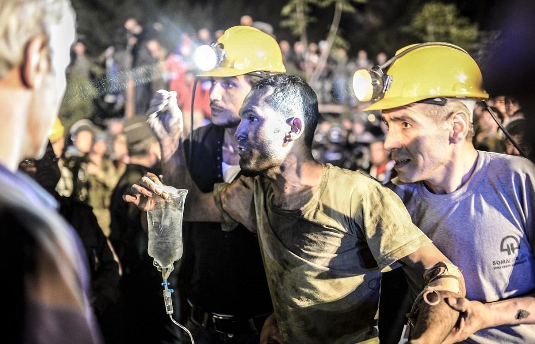 vzryv na shaxte 2 explosion at the mine in Turkey