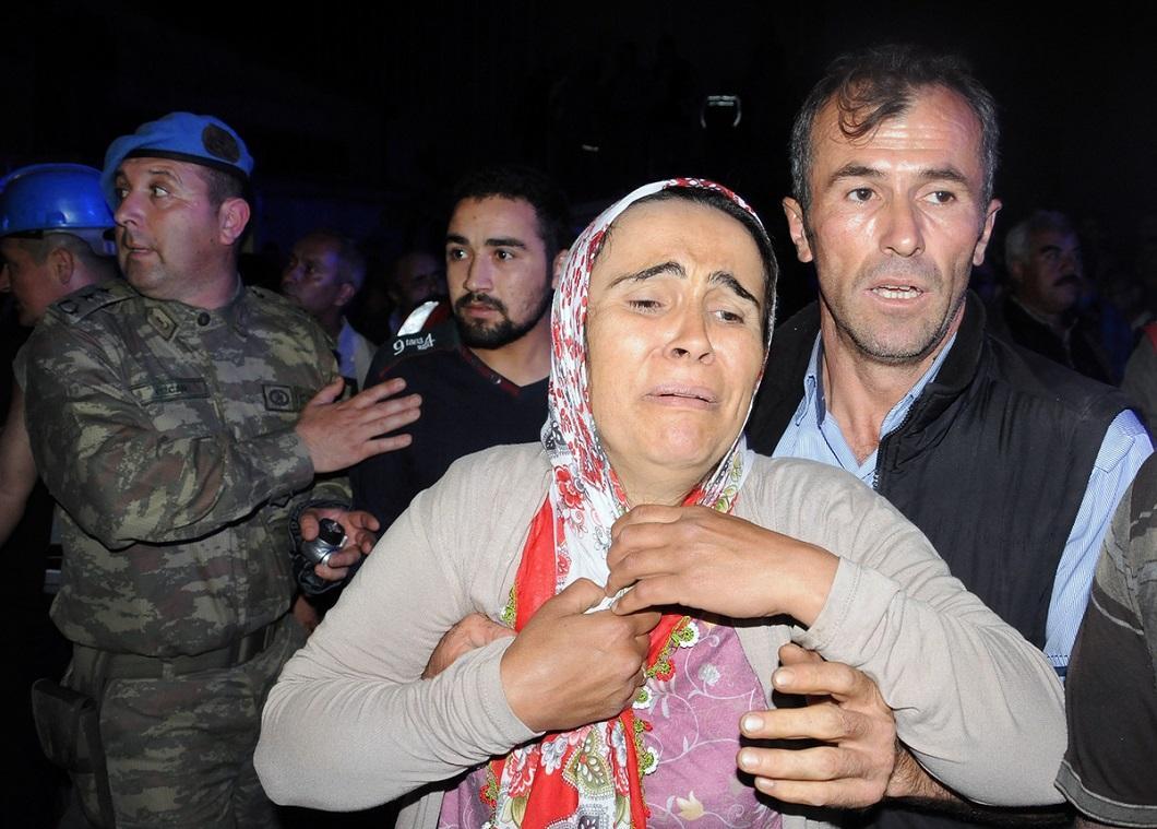 vzryv na shaxte 7 explosion at the mine in Turkey