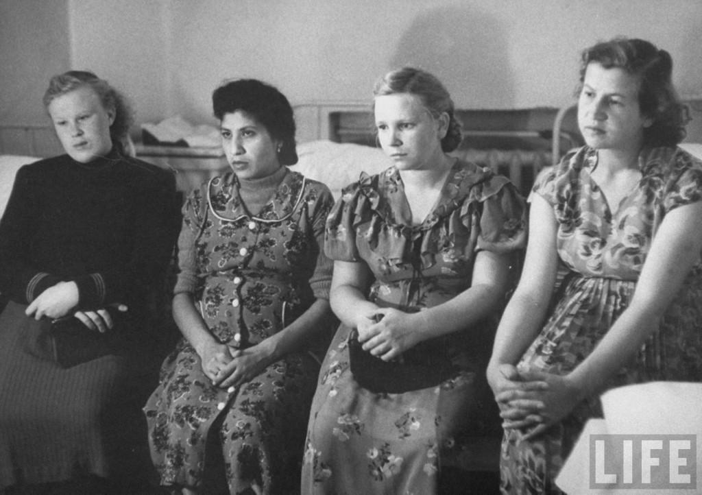 ByLarsen02 Москвички в 1956 году