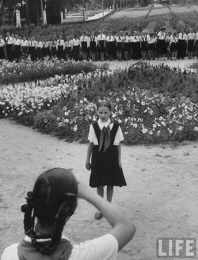 ByLarsen32 Москвички в 1956 году