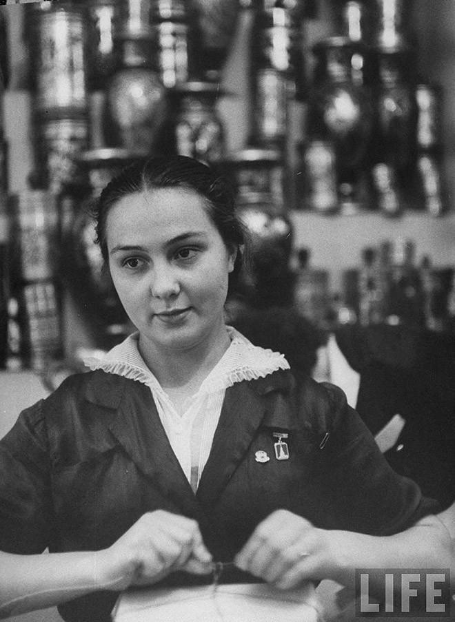 ByLarsen36 Москвички в 1956 году