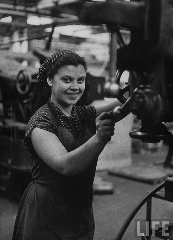 ByLarsen50 Москвички в 1956 году