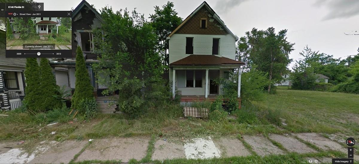 DetroitGSV02 Печальное и впечатляющее зрелище — разрушения в Детройте за последние 5 лет