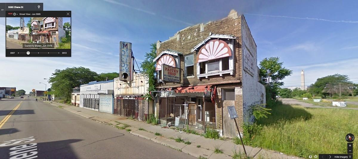 DetroitGSV08 Печальное и впечатляющее зрелище — разрушения в Детройте за последние 5 лет
