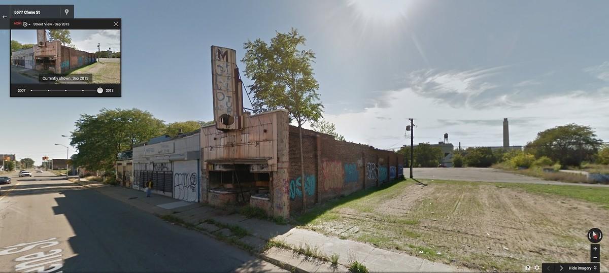 DetroitGSV11 Печальное и впечатляющее зрелище — разрушения в Детройте за последние 5 лет