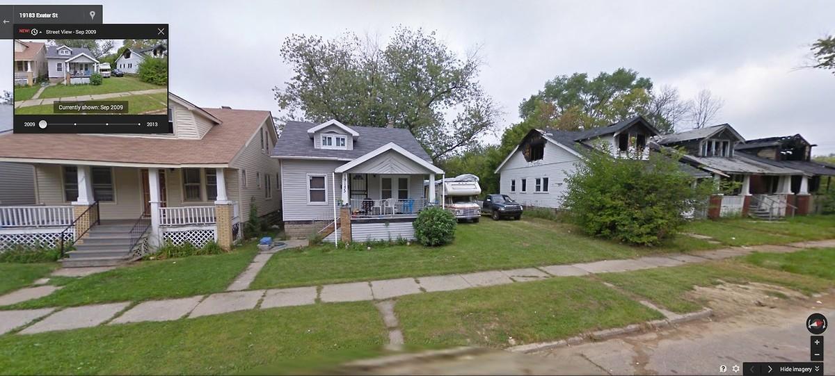 DetroitGSV12 Печальное и впечатляющее зрелище — разрушения в Детройте за последние 5 лет