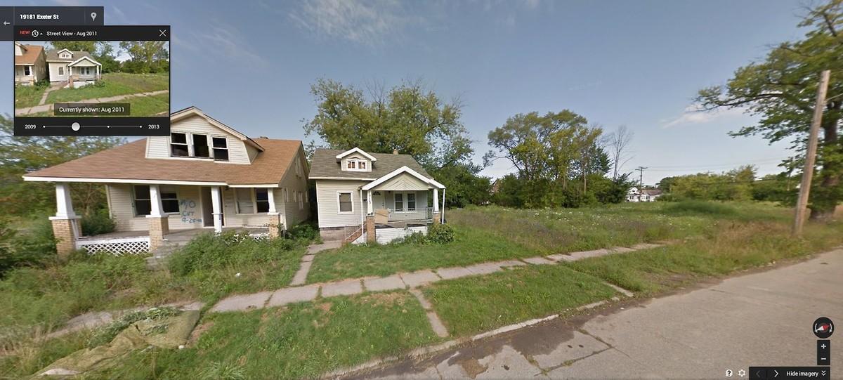 DetroitGSV13 Печальное и впечатляющее зрелище — разрушения в Детройте за последние 5 лет