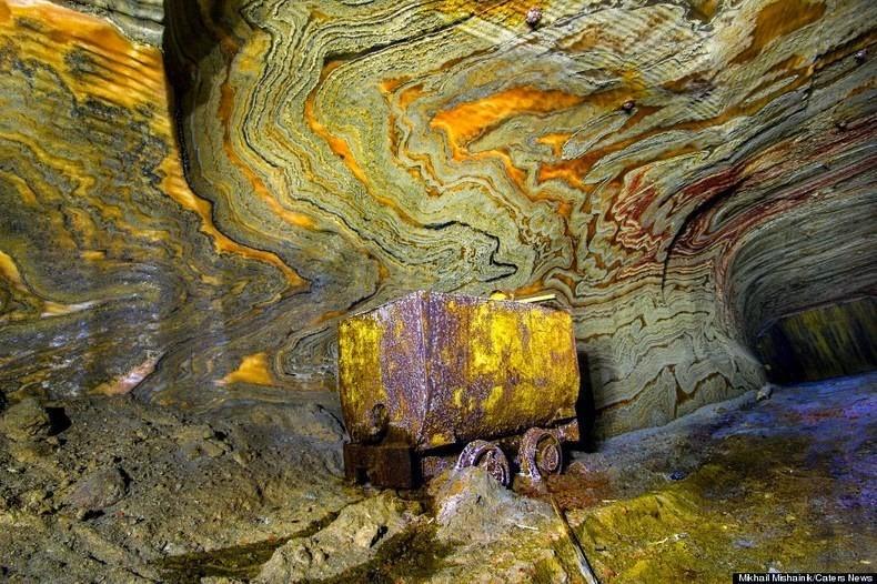 SaltMine02 Психоделическая соляная пещера под Екатеринбургом