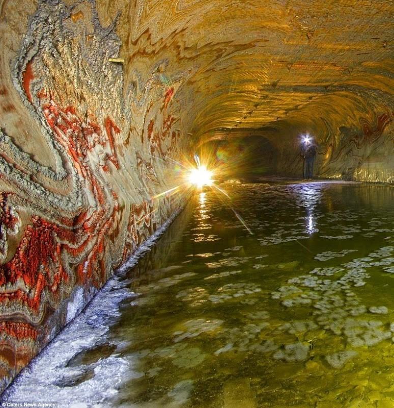 SaltMine07 Психоделическая соляная пещера под Екатеринбургом