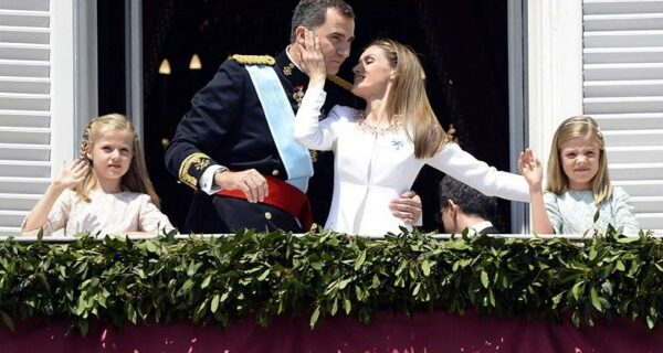 Коронация нового монарха Испании