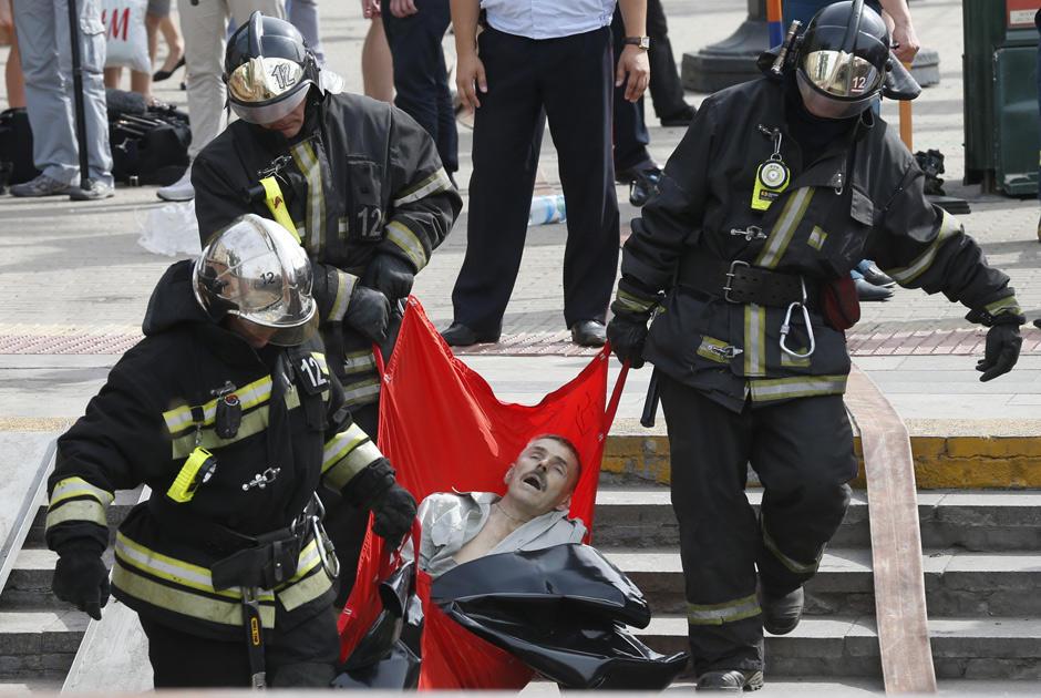 авария около метро парк победы 05.11