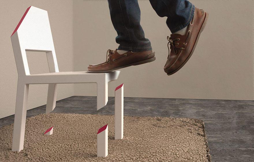 ArtFurniture06 28 удивительных стульев и кресел, доказывающих, что мебель — это искусство