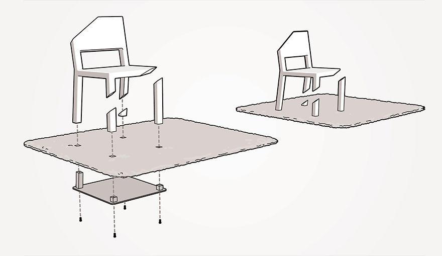 ArtFurniture07 28 удивительных стульев и кресел, доказывающих, что мебель — это искусство