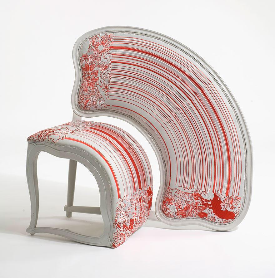 ArtFurniture22 28 удивительных стульев и кресел, доказывающих, что мебель — это искусство