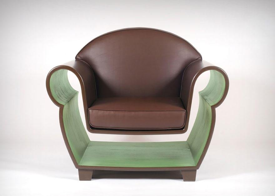 ArtFurniture23 28 удивительных стульев и кресел, доказывающих, что мебель — это искусство