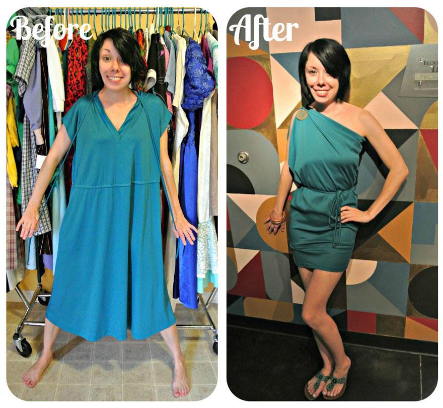 ClothesTransform16 До и после: удивительные превращения одежды из секонд хенда