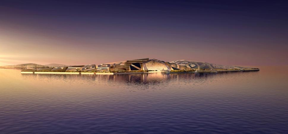 EcoAtlantis01 Eco Atlantis — город будущего у берегов Китая