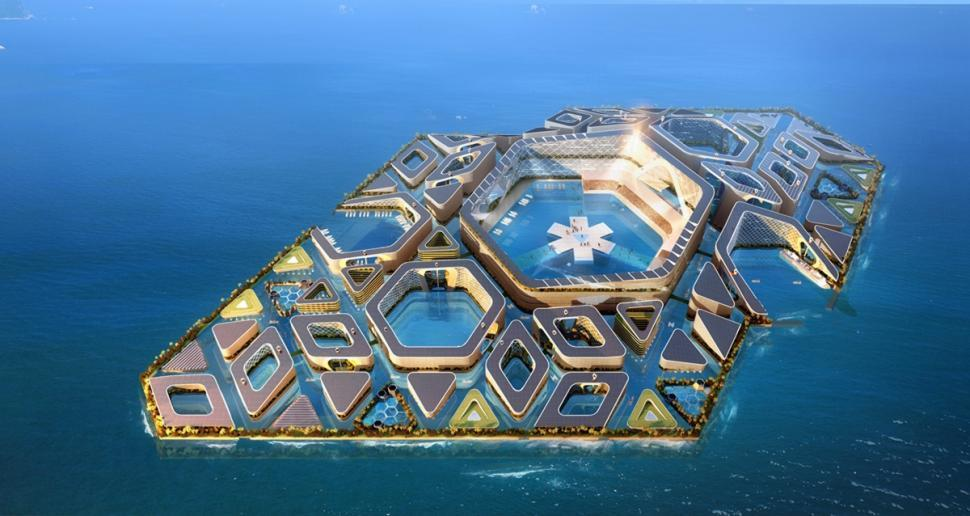 EcoAtlantis02 Eco Atlantis — город будущего у берегов Китая