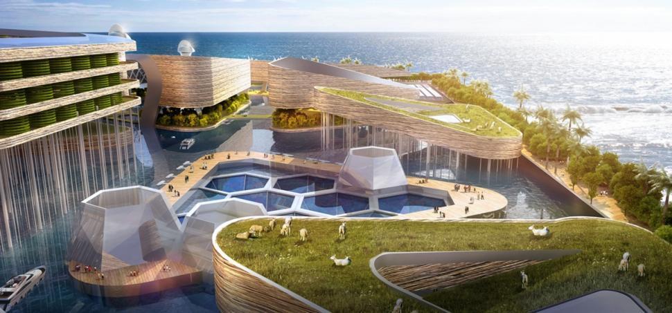 EcoAtlantis03 Eco Atlantis — город будущего у берегов Китая