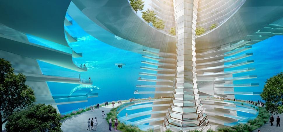 EcoAtlantis04 Eco Atlantis — город будущего у берегов Китая