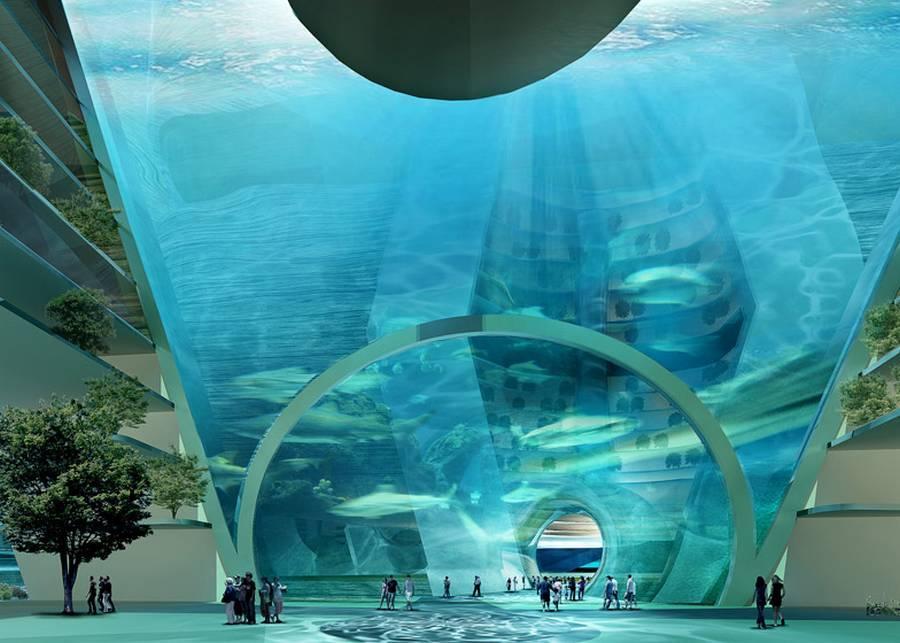 EcoAtlantis06 Eco Atlantis — город будущего у берегов Китая