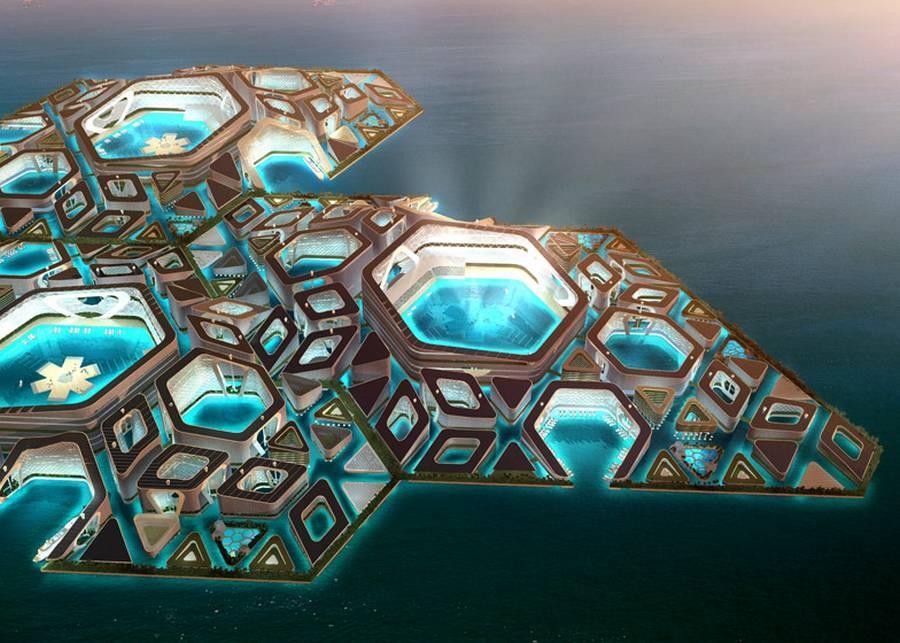 EcoAtlantis07 Eco Atlantis — город будущего у берегов Китая