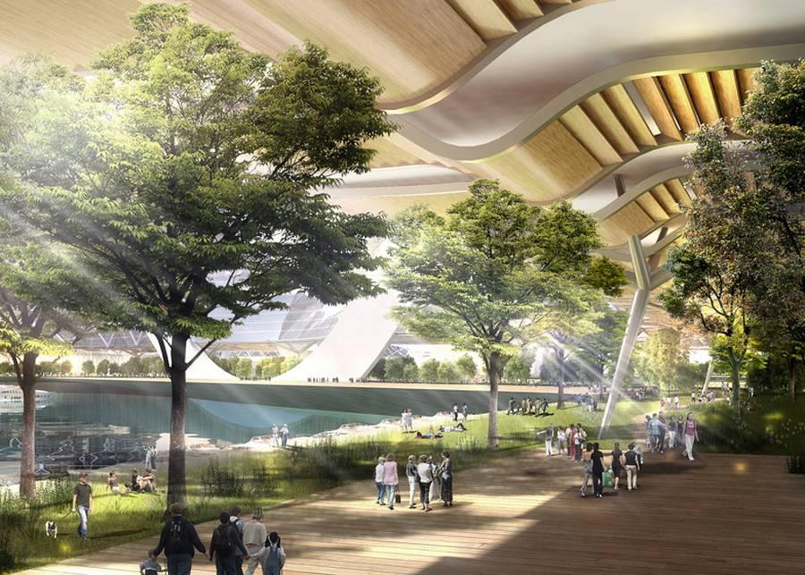 EcoAtlantis08 Eco Atlantis — город будущего у берегов Китая