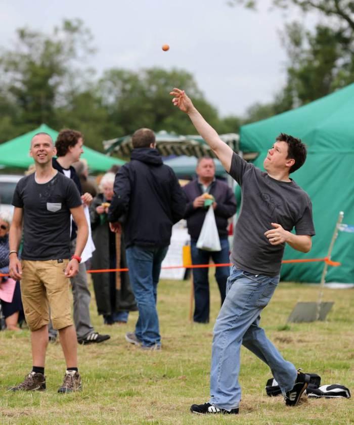 EggThrowing18 Британцы провели мировой чемпионат по метанию яиц
