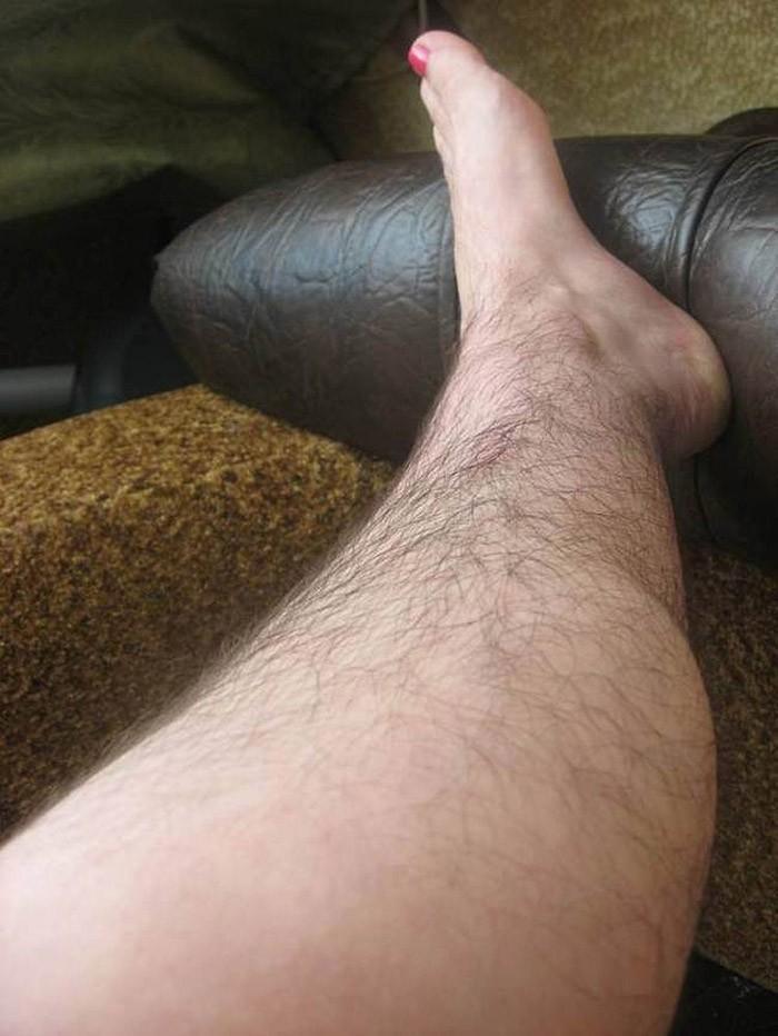 видео женских волосатых ног - 7