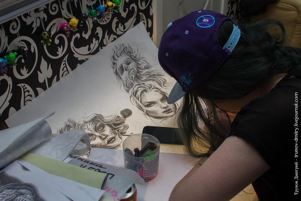 kdink19 Как делается татуировка — специально для девушек