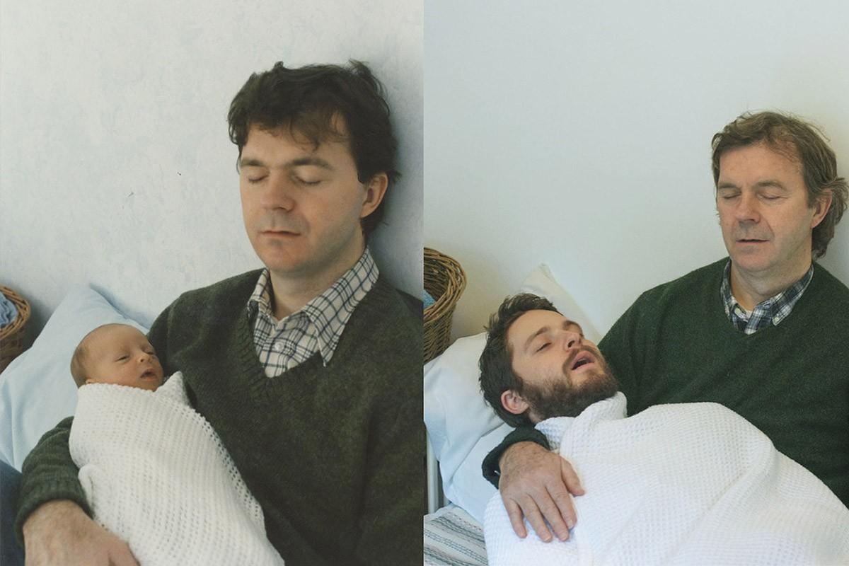 thennow01 До и после: забавные семейные фото десятки лет спустя