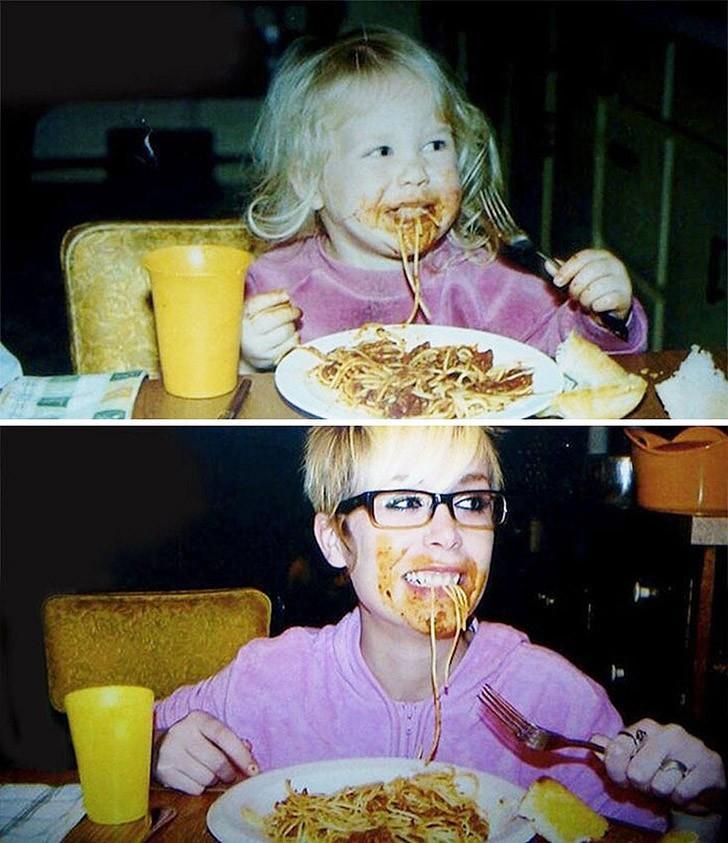 thennow06 До и после: забавные семейные фото десятки лет спустя