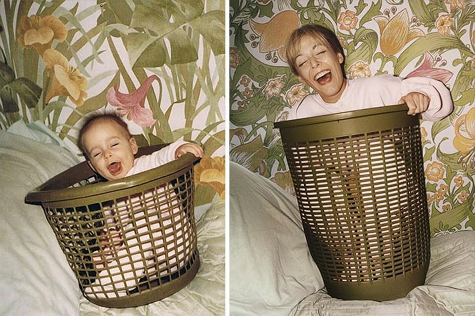 thennow09 До и после: забавные семейные фото десятки лет спустя