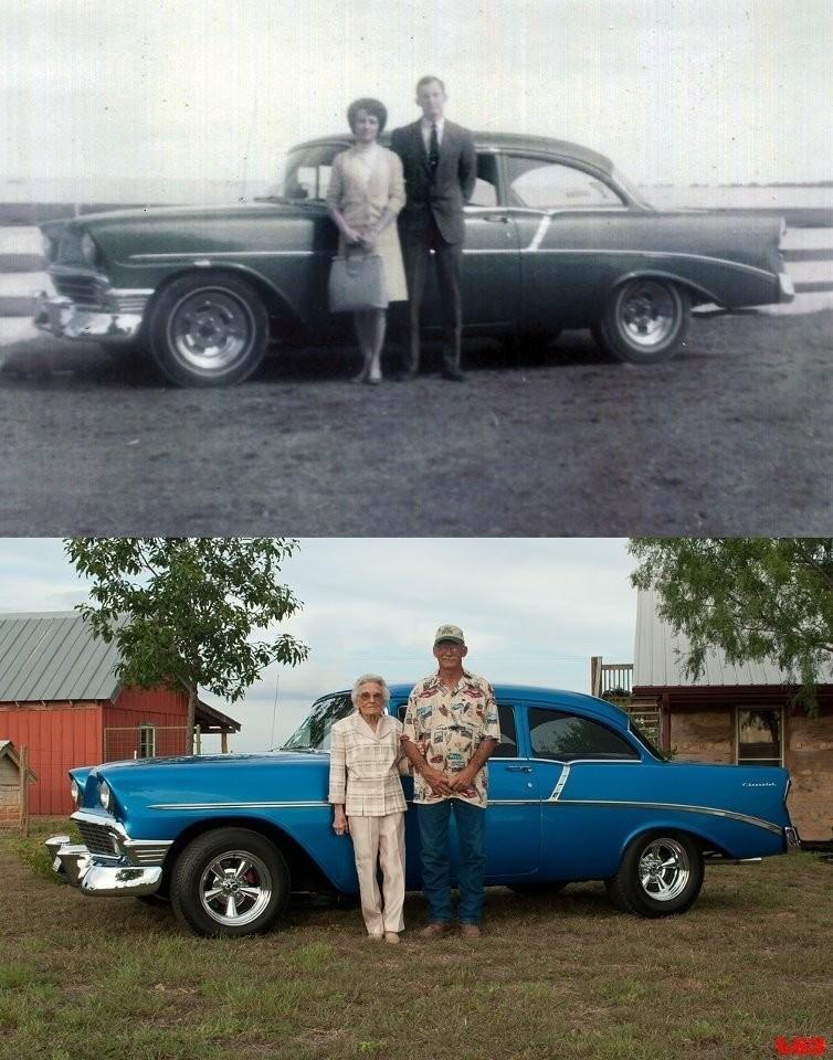 thennow10 До и после: забавные семейные фото десятки лет спустя