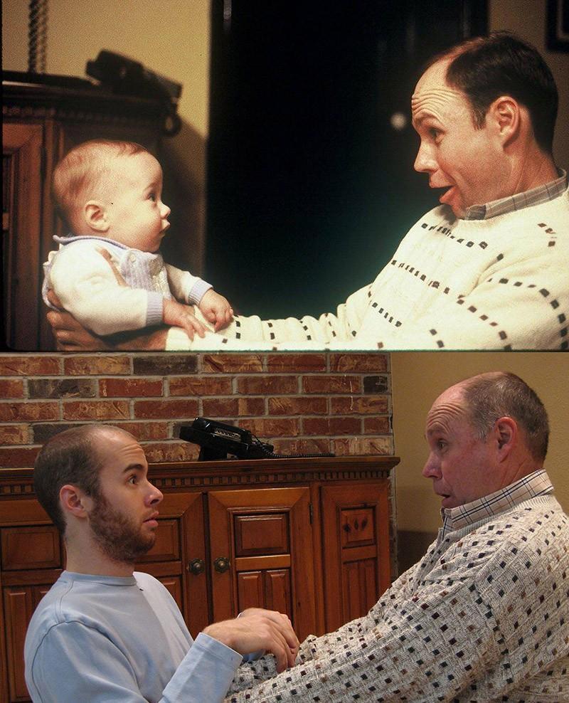thennow12 До и после: забавные семейные фото десятки лет спустя