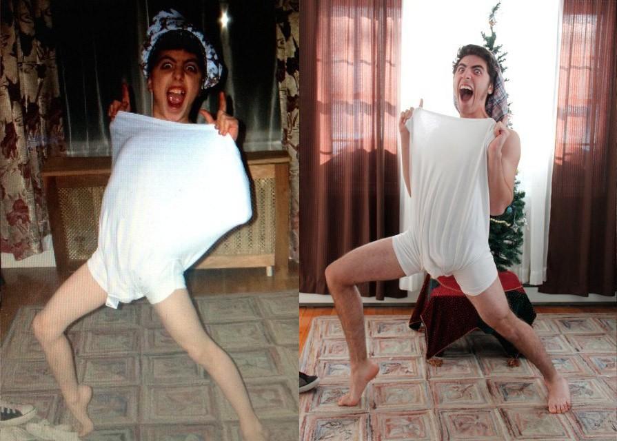 thennow21 1 До и после: забавные семейные фото десятки лет спустя