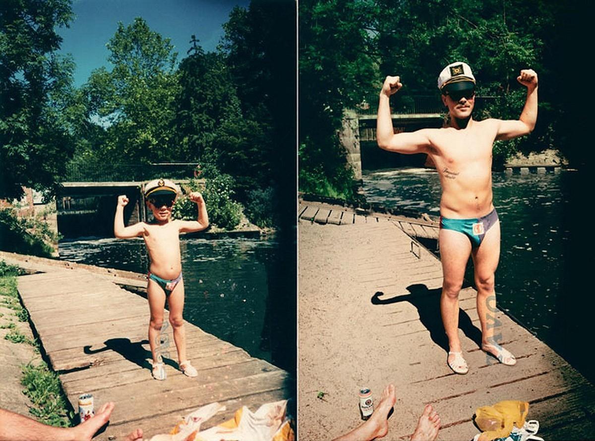 thennow29 До и после: забавные семейные фото десятки лет спустя