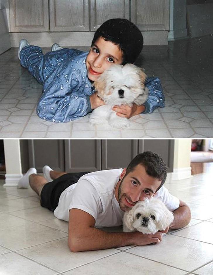 thennow30 До и после: забавные семейные фото десятки лет спустя
