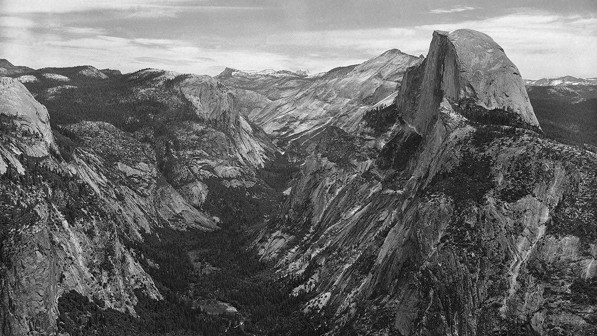 yosemite08 150 лет Йосемити: история национального парка в 15 фотографиях и одном таймлапсе