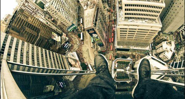 Если бы человек-паук был фотографом: фото с крыш небоскребов