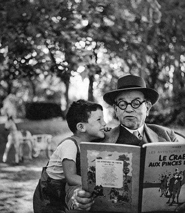 чудесный черно-белый снимок от мастера фотографии