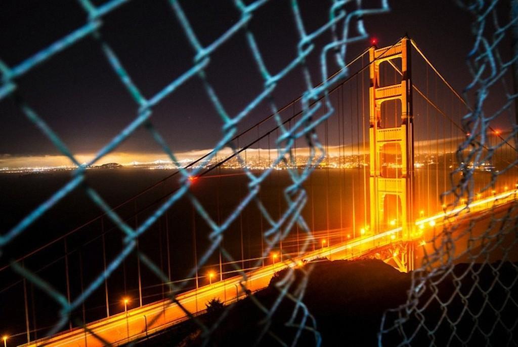 GoldenGate05 Золотые Ворота — самый фотографируемый мост в мире