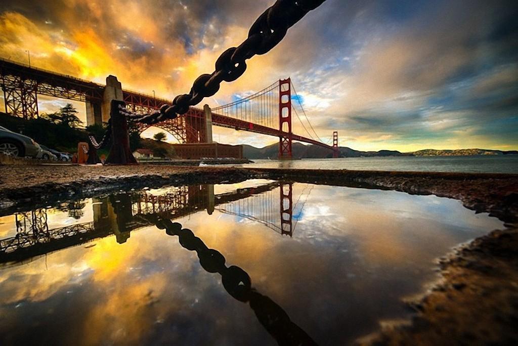 GoldenGate08 Золотые Ворота — самый фотографируемый мост в мире