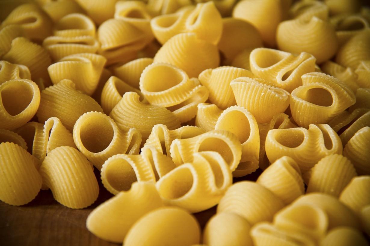 вошел разновидность пасты итальянской фото снабжена